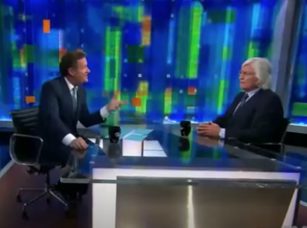 Tom Mesereau with Piers Morgan