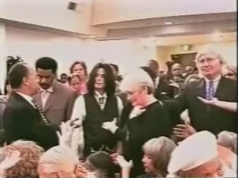 Attorney Tom Mesereau & Michael Jackson Attend First AME Church