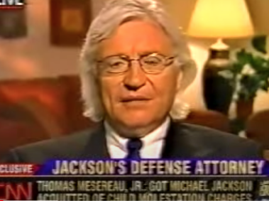 "Larry King interviews Michael Jackson's Attorney Tom Mesereau on CNN's ""Larry King Live"""
