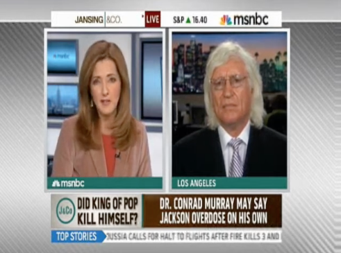 Video of Attorney Tom Mesereau on MSNBC
