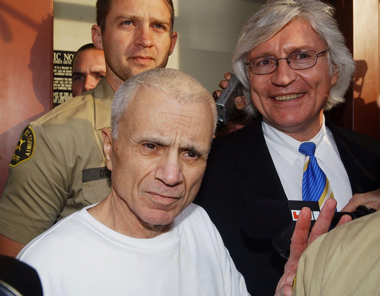 Tom Mesereau and Robert Blake